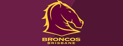 Brisbane broncos embroidery